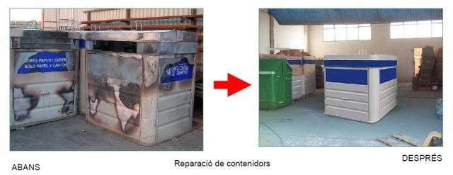 reparació contenidors