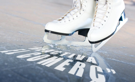 pistes de gel