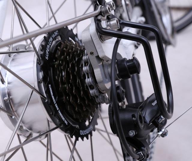 bici elèctrica UUALK