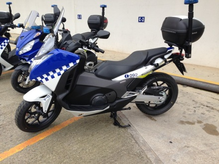 moto policial ajuntaments