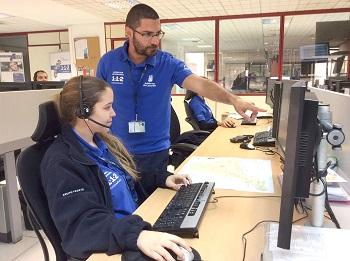 112 Canarias contact center